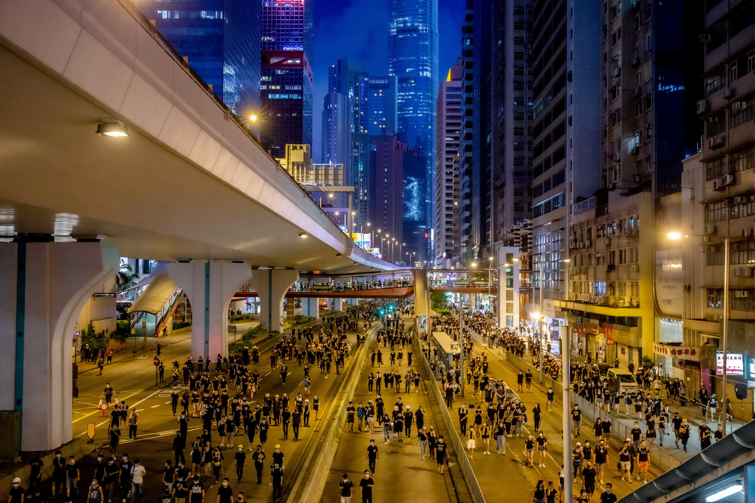 Hong Kong's summer of protest