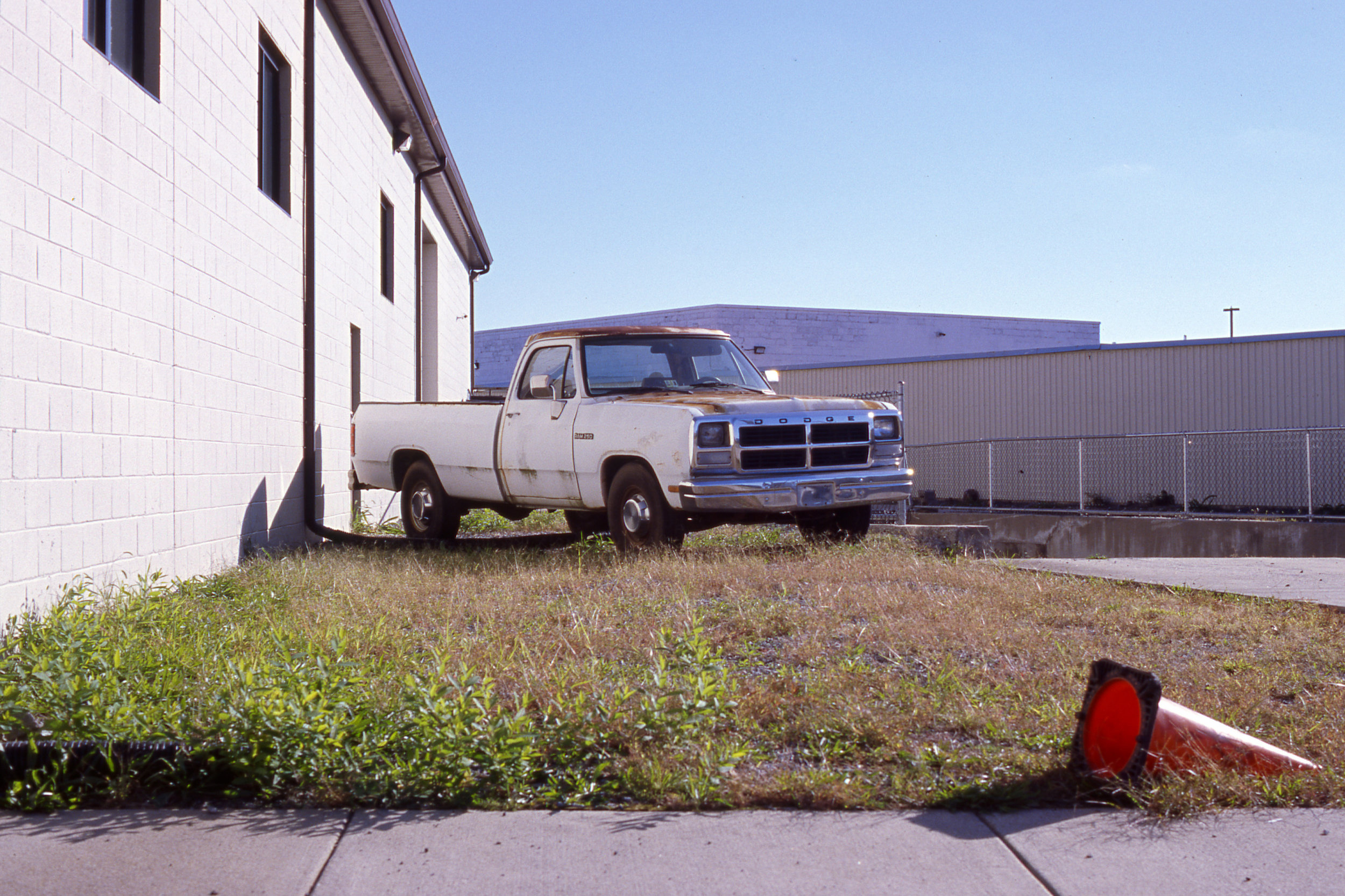 An old Ram 250 on Kodak's new Ektachrome E100 slide film.