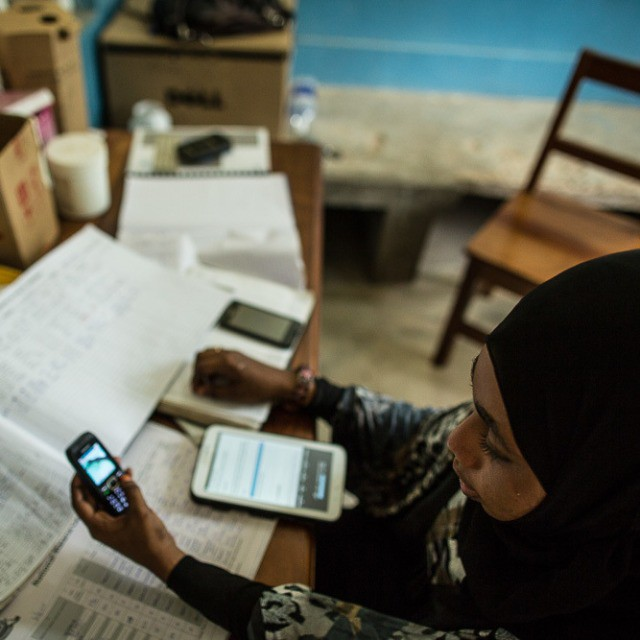 While malaria has always existed in Shakani village, Habiba is now armed with new tools to fight it: a mobile phone, a tablet, a motorbike and lots of drive.  Though they might not seem novel, these tools—supplied to her by the U.S. President's Malaria Initiative—help her respond to the disease in record time and help authorities identify outbreaks.  Every time a malaria patient is recorded at a clinic in her area, Habiba gets an SMS text on her mobile phone.  Watch Zanzibar's Malaria Hunter @ http://go.usa.gov/3fpUQ  #MalariaHunter #EveryDayAfrica #Tanzania #MalariaNoMore #TheAfricaTheMediaNeverShowsYou #USAID #Africa #EndPoverty #SuperMom