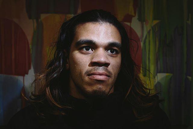 Portrait of a young HIV activist.