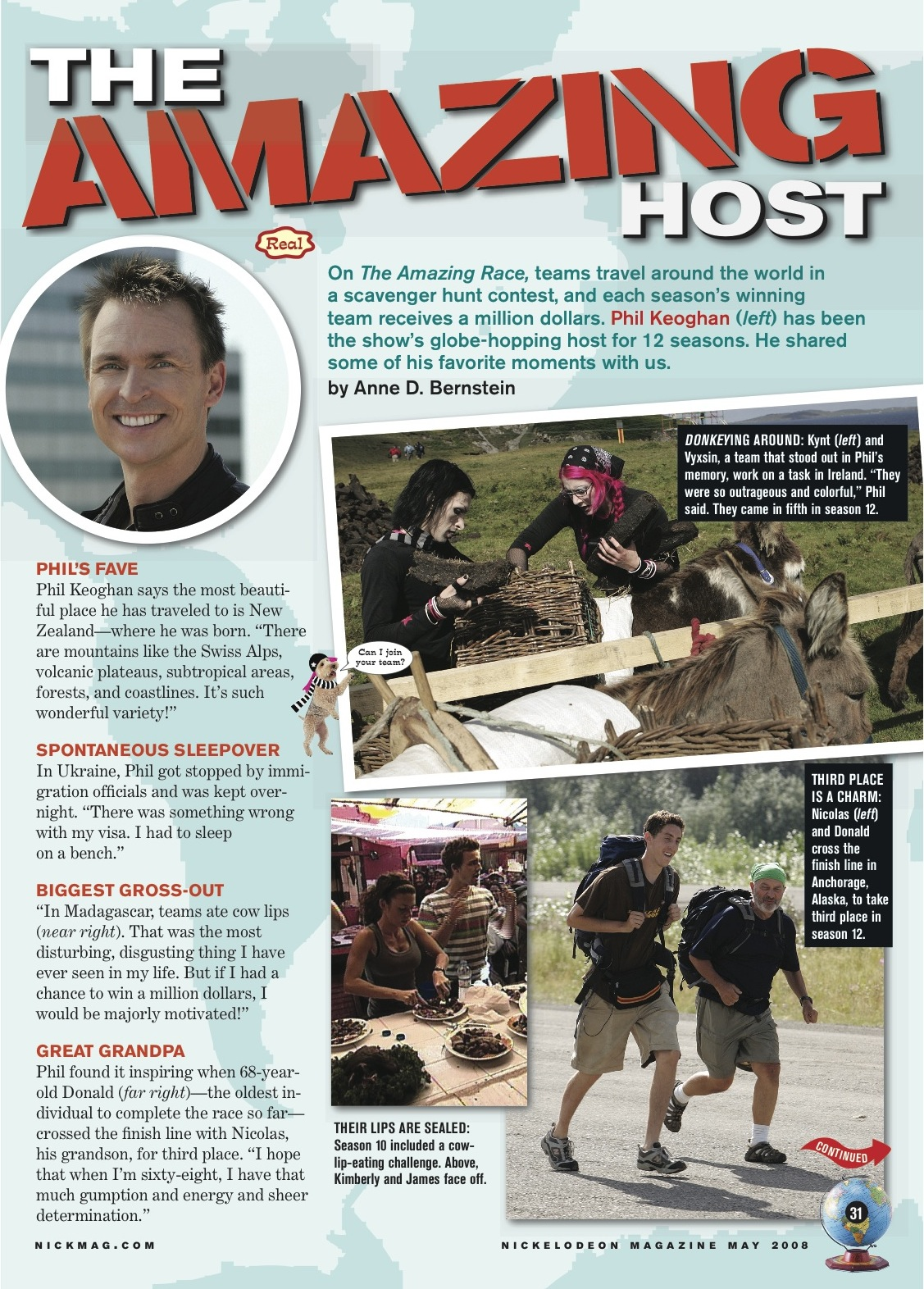 Nickelodeon Magazine_Amazing Race.jpg