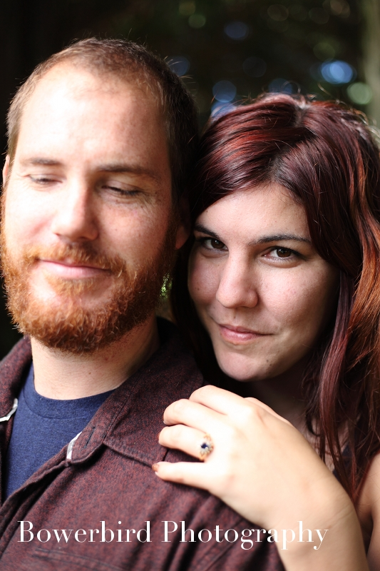 Emily has such beautiful eyes! © Bowerbird Photography 2012; Engagement Photography at the Panhandle, San Francisco.
