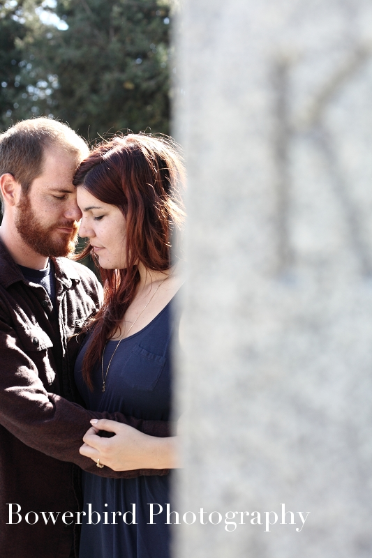 Steamy!© Bowerbird Photography 2012; Engagement Photography at the Panhandle, San Francisco.