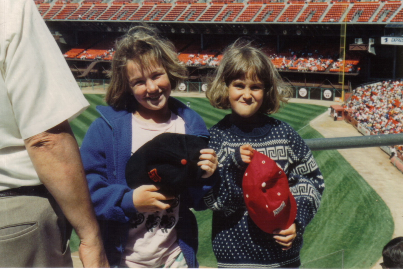 1991, Candlestick Park, the SF Giants vs.Montreal Expos. Photo by Robert Soto.