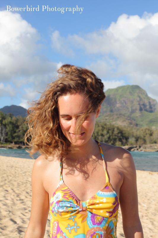 Sun lover.© Bowerbird Photography 2012; Travel Photography Kauai, Hawaii.