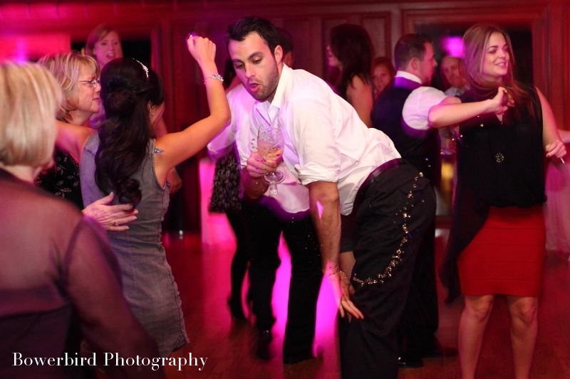 You know it's a good party when things get a little wild :) Let loose, we've got it all handled! © Bowerbird Photography 2012; Wedding Photography at Fogarty Vineyards, Woodside.