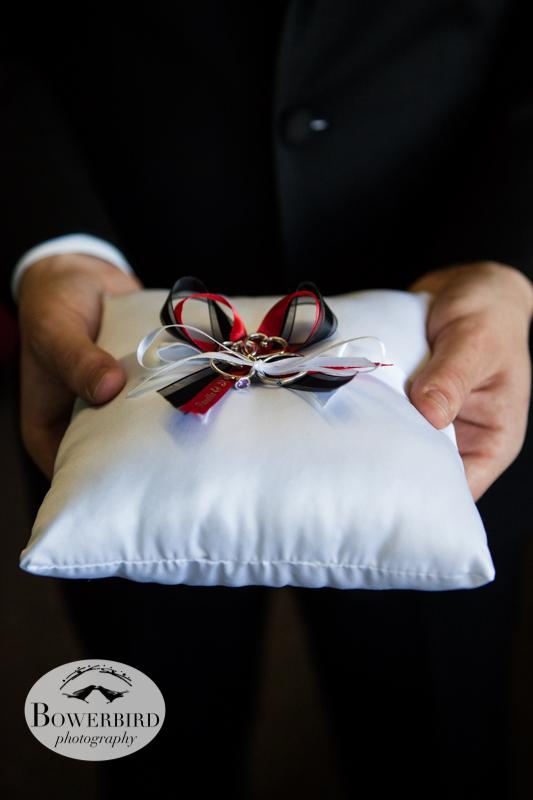 The wedding rings.© Bowerbird Photography 2012; Wedding Photography in Dublin, CA.