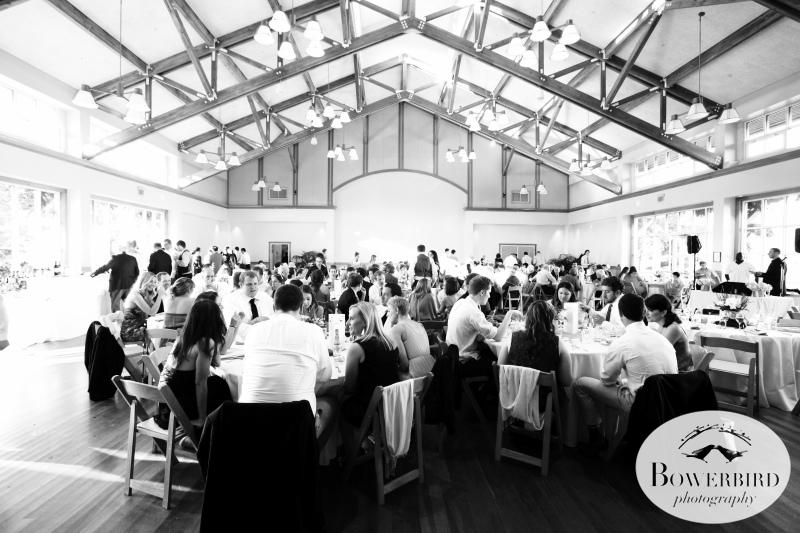 The inside of the Milly Valley Community Center. © Bowerbird Photography 2013;Mill Valley Community Center Wedding, Mill Valley.