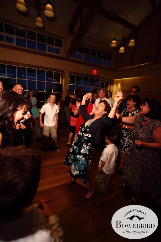 This crowd knew how to have a great time!©Bowerbird Photography 2013;Mill Valley Community Center Wedding, Mill Valley.