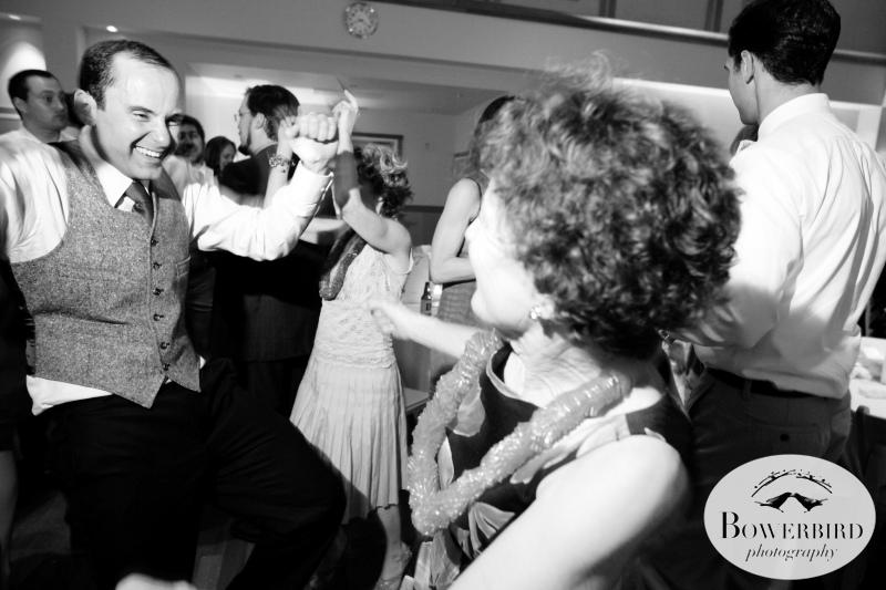 And then back to more dancing!©Bowerbird Photography 2013;Mill Valley Community Center Wedding, Mill Valley.