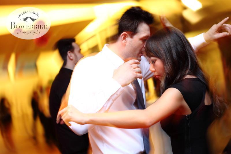Dancing the night away. ©Bowerbird Photography 2013; Marin Art and Garden Center Wedding, Ross, CA.