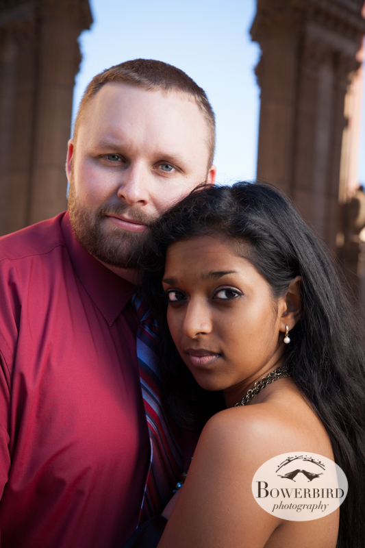 Looking gorgeous. © Bowerbird Photography 2013; Engagement Photography at the Palace of Fine Arts, San Francisco.