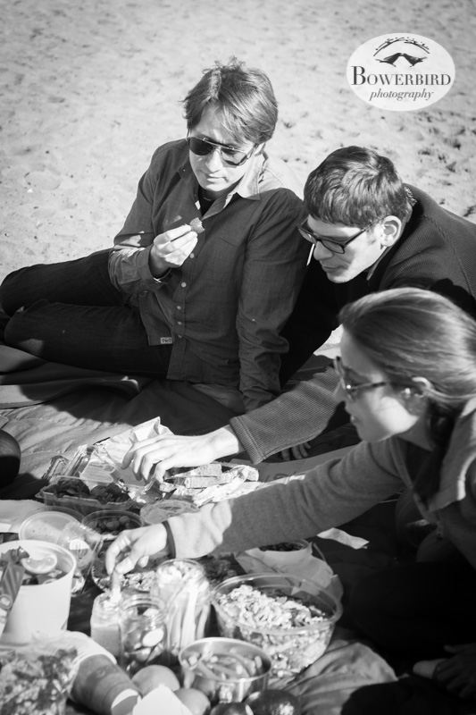 Picnic time. © Bowerbird Photography 2013, Sam's birthday picnic at Ocean Beach.