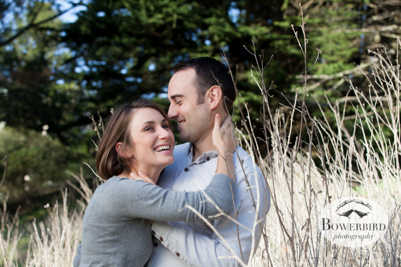 Don't these just make you smile?! © Bowerbird Photography 2013; Engagement Photography at Glen Canyon, San Francisco.