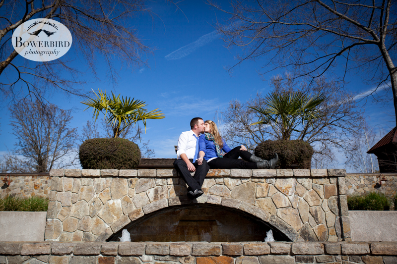 © Bowerbird Photography 2013; Engagement Photography in Yountville, CA.