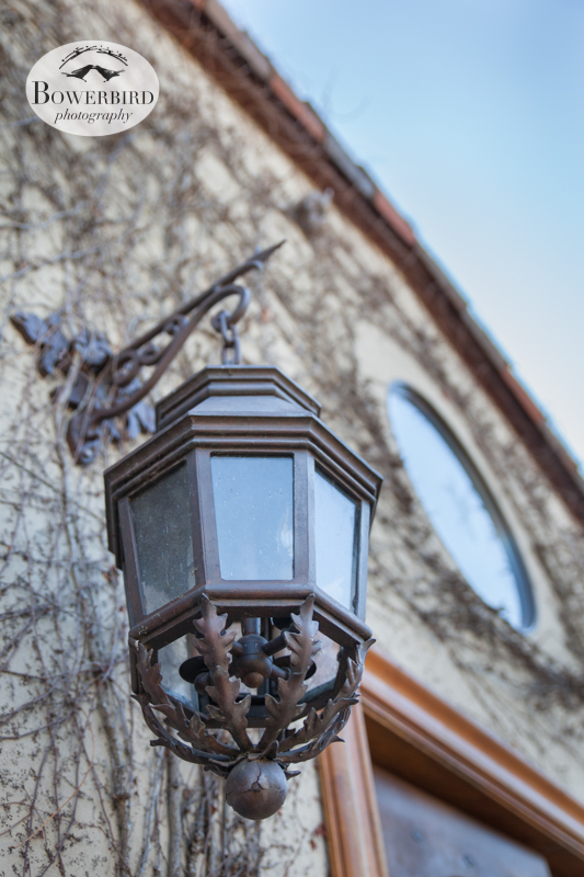 A beautiful lamp outside. © Bowerbird Photography 2013, Clos LaChance Winery in San Martin, Wedding Site Visit.