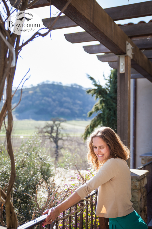 The view from the bridal suite. © Bowerbird Photography 2013, Clos LaChance Winery in San Martin, Wedding Site Visit.