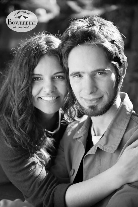 Super romantic! © Bowerbird Photography 2013; Engagement Photography in Golden Gate Park, Botanical Gardens, San Francisco.