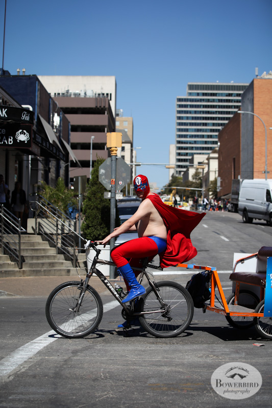 Catch a ride during the festival! © Bowerbird Photography, Austin and SXSW 2013 Photo.