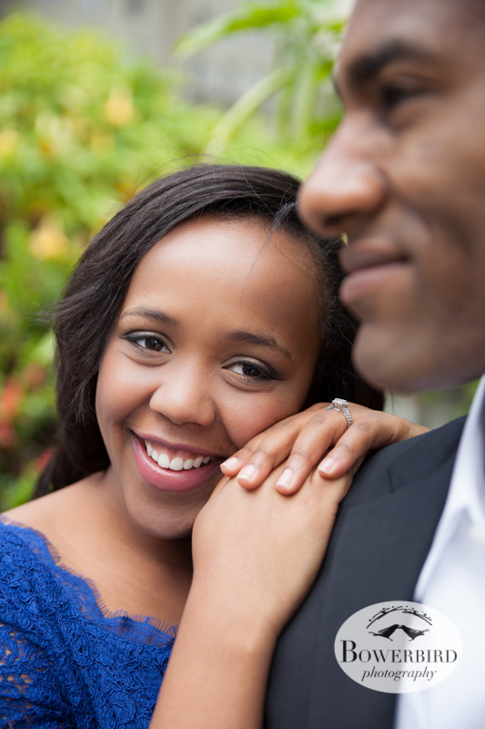 Faye looking gorgeous! © Bowerbird Photography 2013; San Francisco, Union Square Engagement Photo.