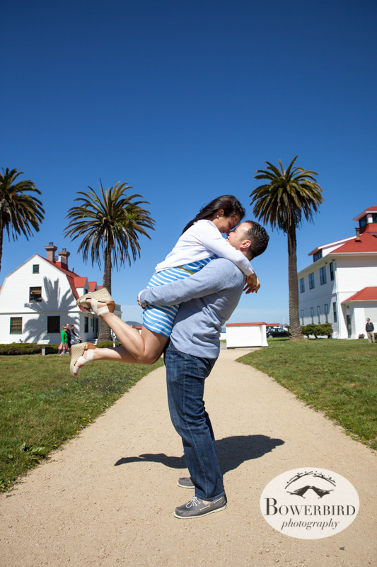 Totally adorable! © Bowerbird Photography 2013; San Francisco Engagement Photo.