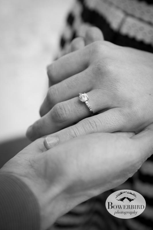 Bling! © Bowerbird Photography 2013; San Francisco Engagement Photo.