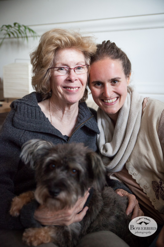 Judith stopped by with Hugo (her bday is also on the 12th!) © Bowerbird Photography 2013.