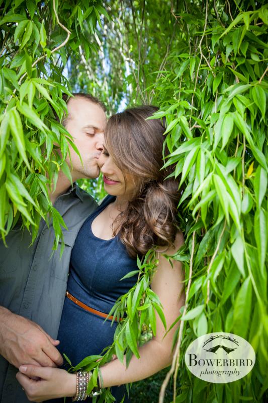 Jungle lovin'. © Bowerbird Photography 2013; Alamo Square, San Francisco Engagement Photo.