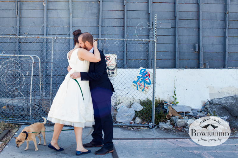 Such a sweet first look. © Bowerbird Photography 2013.