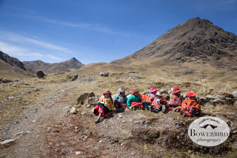 These children patiently wait their turn. © Bowerbird Photography 2013, Sacred Valley Health and Suny Brockport in Yanamayo, Peru.