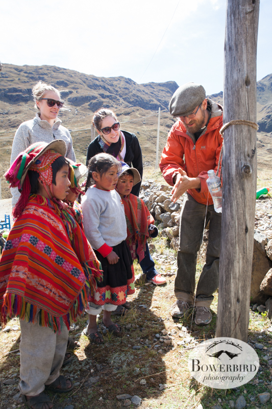 Washing hands! © Bowerbird Photography 2013, Sacred Valley Health and Suny Brockport in Yanamayo, Peru.