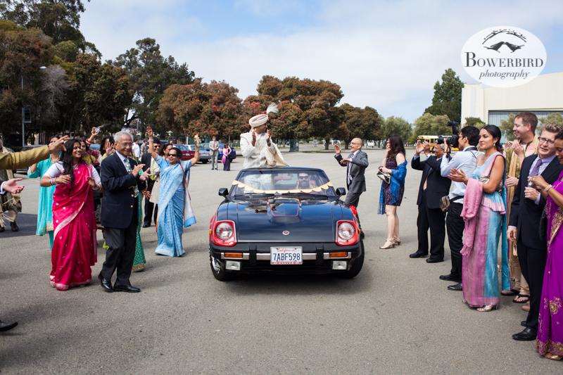 So much fun! © Bowerbird Photography 2013, South Asian Wedding at the San Francisco Winery SF on Treasure Island.