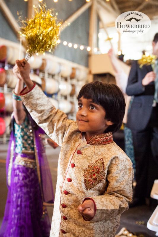 Yippy!! © Bowerbird Photography 2013, South Asian Wedding at the San Francisco Winery SF on Treasure Island.