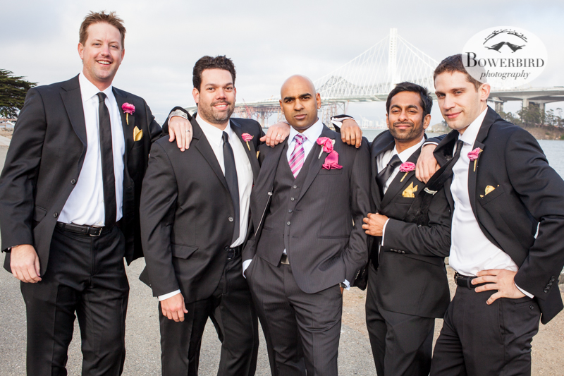 The bros. © Bowerbird Photography 2013, Wedding at the San Francisco Winery SF on Treasure Island.