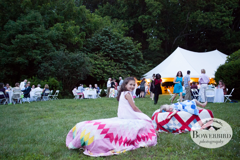 The sun starting to go down for the evening. © Bowerbird Photography 2013, Destination Wedding Photography in the Brandywine Valley, Pennsylvania.