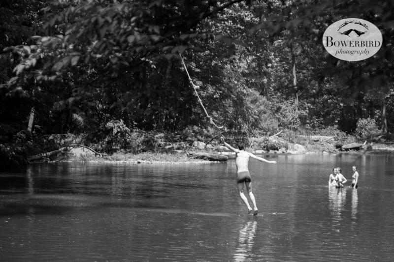And Sam swinging :) © Bowerbird Photography 2013.