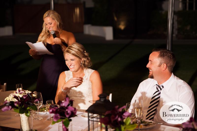 Wedding Toasts. Wente Vineyards Wedding Photography in Livermore. © Bowerbird Photography 2013.