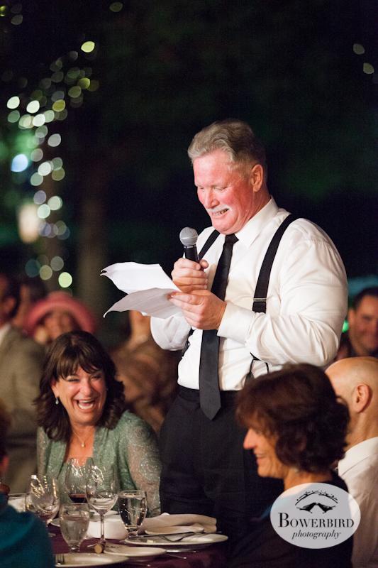 Wedding Toasts.Wente Vineyards Wedding Photography in Livermore. © Bowerbird Photography 2013.