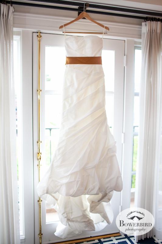 The bride's dress! Lucie Stern Community Center Wedding Photos.© Bowerbird Photography 2013