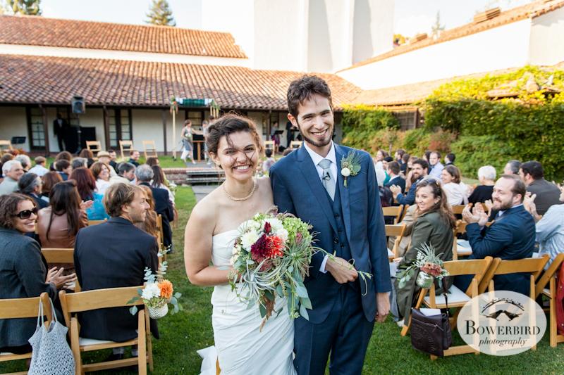 Lucie Stern Community Center Wedding Photos.© Bowerbird Photography 2013