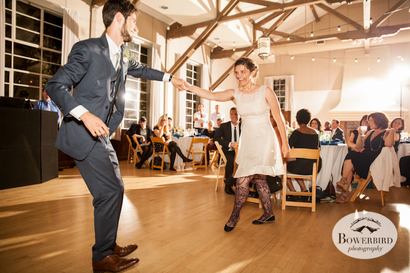 First dance. Lucie Stern Community Center Wedding Photos.© Bowerbird Photography 2013