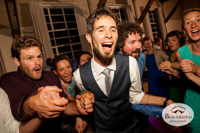 The Hora! Lucie Stern Community Center Wedding Photos.© Bowerbird Photography 2013