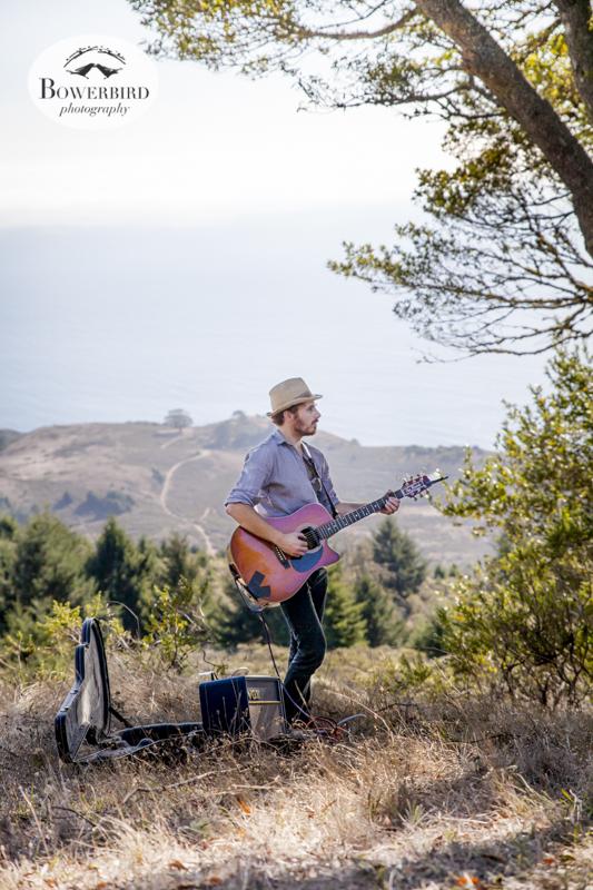 Secret concert on Mt. Tam. © Bowerbird Photography, 2013.