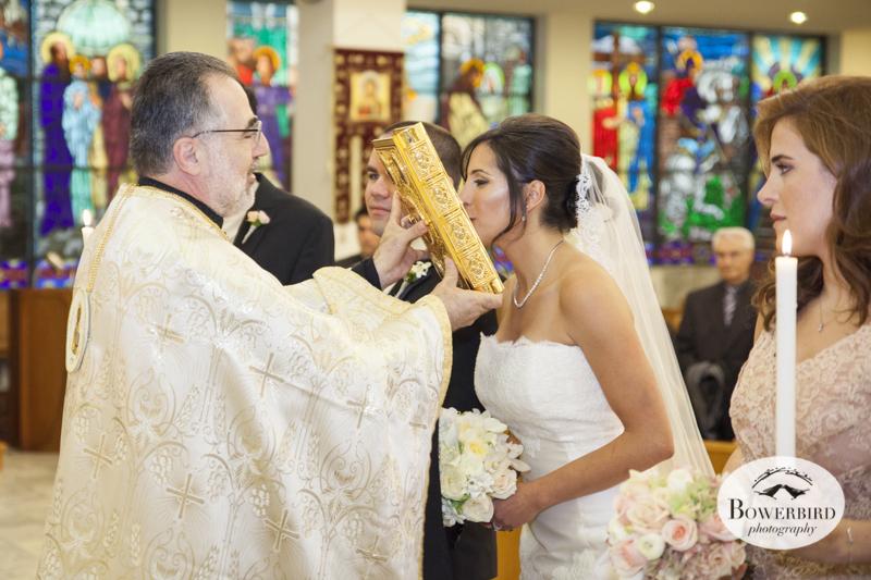 San Francisco Wedding Photography at the St. Nicholas Orthodox Church.© Bowerbird Photography.