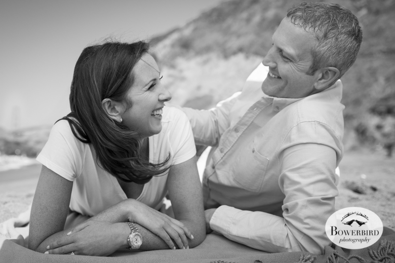 San Francisco Engagement Photo Session at Baker Beach. © Bowerbird Photography, 2014