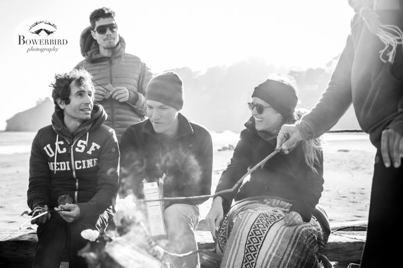 Muir Beach Birthday Bonfire. © Bowerbird Photography 2014