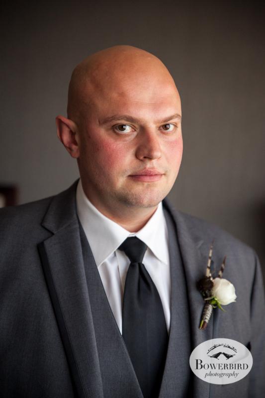 Westin St. Francis. Portrait of groom. © Bowerbird Photography 2014