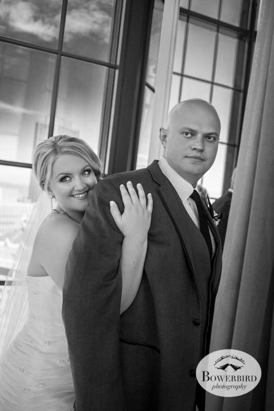 Couple's photos. Westin St. Francis © 2014 Bowerbird Photography