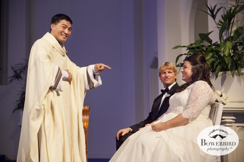 San Francisco Wedding Photography at St. Vincent de Paul Church.  © Bowerbird Photography 2014