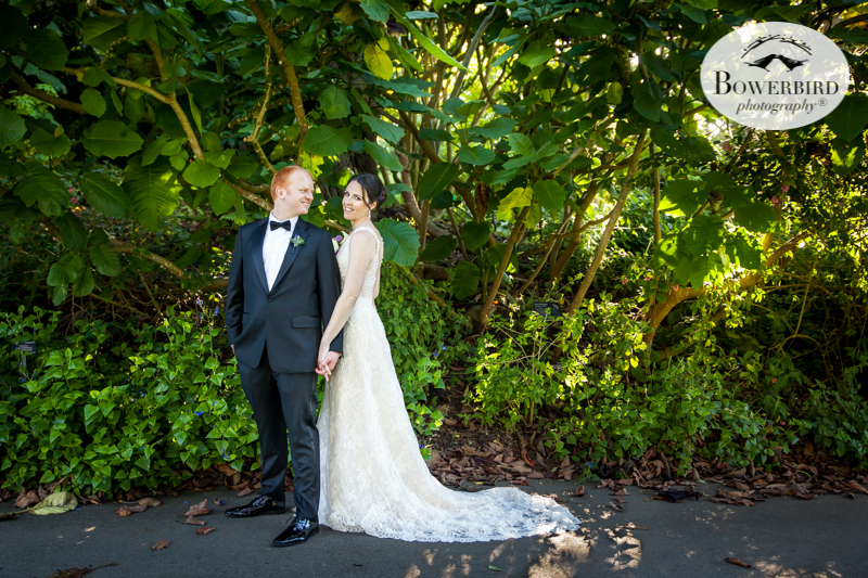 SF Botanical Garden wedding couple's photos. © Bowerbird Photography 2016